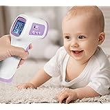 AVANTEK ノンタッチ非接触式 赤外線放射式体温計 放射温度計 赤ちゃん体温計 デジタルレーザー体温計 おでこ測定式サーモメーター ガンタイプ 人体・物体の表面温度測定に FHT-P2