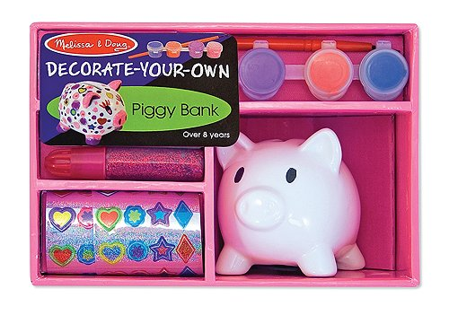 Ceramic Piggy Bank Decorate-Your-Own Kit front-352857