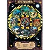 Der Jahreskreis. Poster