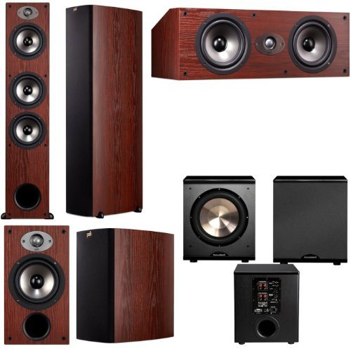 Polk Audio Tsx440T 5.1 Home Theater System (Cherry)