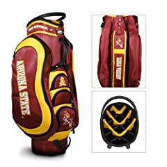 Arizona State Sun Devils Ncaa Cart Bag - 14 Way Medalist by Team Golf