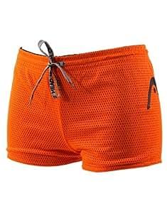 Head Double Power Drag Short - Black and Orange Extra Small
