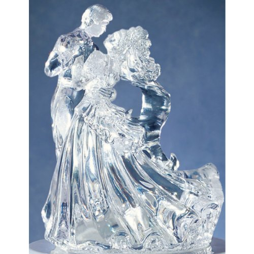 Wilton Clear Bianca Figurine Topper