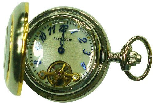 Ladies Stainless Pocket Watch by Bariloche Pocket Watches 8121TC-AEW1(BL)