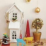 フローズン LEDウッドハウスC とんがりの家 クリスマスツリー と一緒に! LEDライト LED キャンドル クリスマス 飾り/オーナメント 北欧/キャンドルライト/キャンドルLED/北欧/北欧 雑貨/オブジェ 北欧/スパイス/SPICE/アーニーバーニー/フリート/