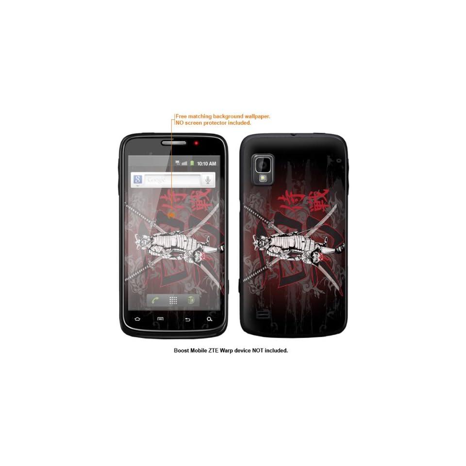 Protective Decal Skin Sticker for ZTE Warp  Boost Mobile version  case cover ZTEwarp 424