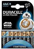Duracell Ultra Power Alkaline Batterien mit Powercheck AAA 8er Pack