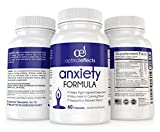 Stress Relief & Natural Anxiety Supplement by Optimal Effects - Naturally Manage and Relieve Chronic Stress - Hawthorn, 5-HTP, B-Vitamins, Ashwagandha, Biotin, Valerian and more (60 Veggie Capsules)