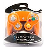 Wii - GameCube Controller / Pad (orange)