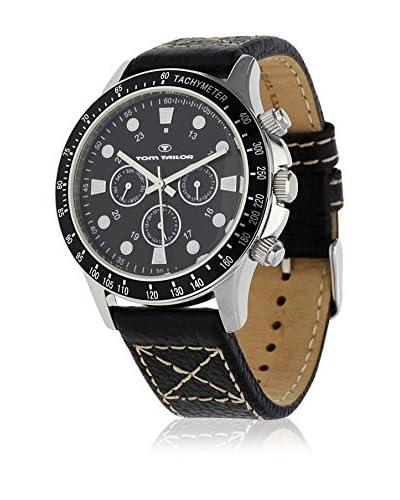 TOM TAILOR Reloj de cuarzo 5407401 Negro 46 mm