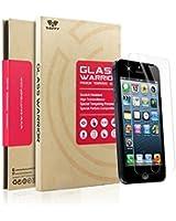 SAVFY® Pour iPhone 5S / 5C / 5 - Protection écran en Verre Trempé iPhone 5S 0.3mm INRAYABLE et ULTRA RÉSISTANT INDICE Dureté 9H Haute transparence + carte & chiffonnette OFFERTS!