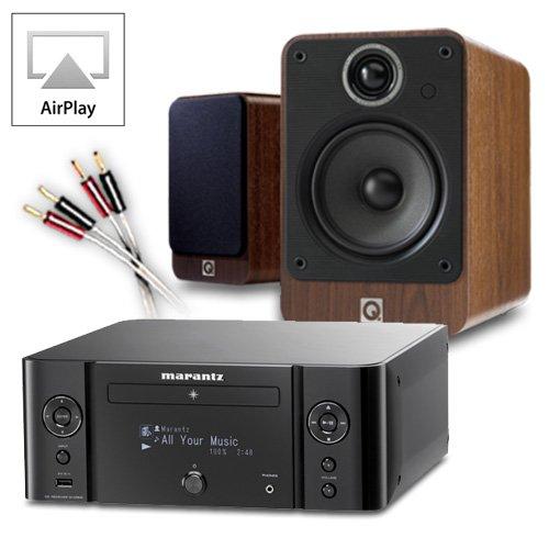 Creative Audio CA-MS19i-BW Micro Stereo System (Marantz M-CR610 Black + Q Acoustics 2020i Walnut + 60 QED cable... Black Friday & Cyber Monday 2014
