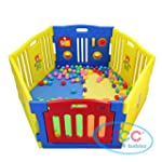 MCC Plastic Baby Playpen with Activit...