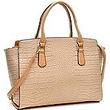 Dasein Faux Leather Tablet, Ipad Bag Satchel Briefcase Shoulder Bag with Removable Shoulder Strap