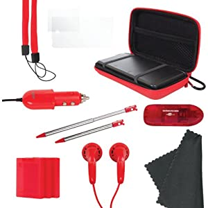 Nintendo 3DS 13-In-1 Gamer Pack - Red