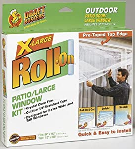 shurtech brands roll on exterior patio door insulator kit