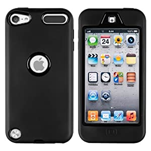 CommonByte Deluxe Tripe Layer Hybrid Gel Hard Cover Case For iPod Touch 5 5th 5G Generation