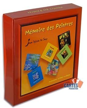 Jeu de 64 cartes : Mémoire des Peintres