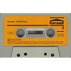 I Feel Free [cassette] by Cream