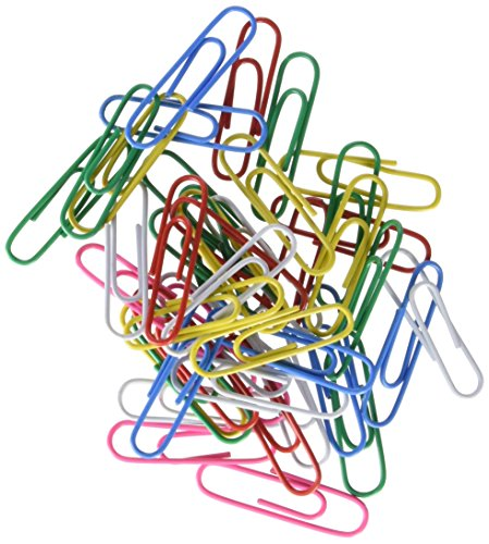 MTL 79210-Pack of 100Clips Colors, 32mm