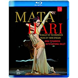 MATA HARI - A Ballet by Ted Brandsen Blu Ray [Blu-ray]