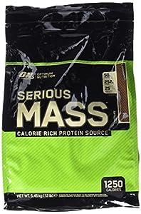 Optimum Nutrition Prise de Poids Serious Mass Chocolat 5454 g