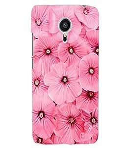 ColourCraft Beautiful Flowers Design Back Case Cover for MEIZU MX5
