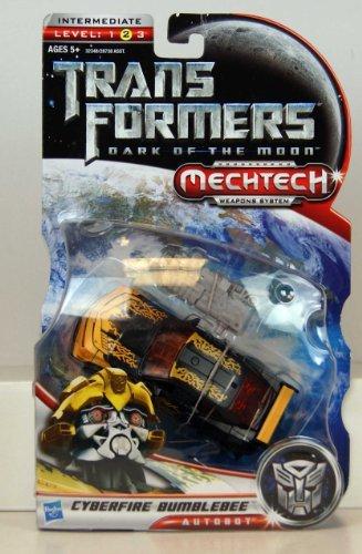 Transformers - 32348 - Dark of the Moon - MechTech Weapon Systems - Deluxe Class - Autobot Cyberfire Bumblebee - ca. 16 cm