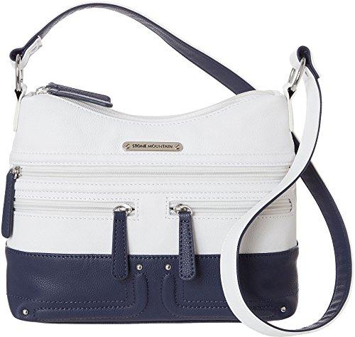 stone-mountain-emmy-hobo-handbag-one-size-navy-blue-white