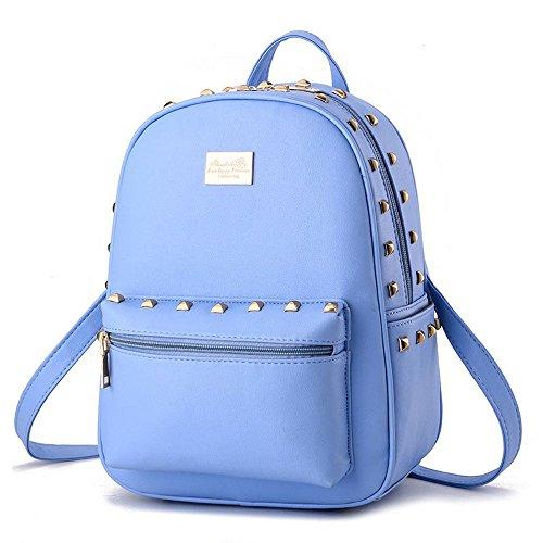 koson-man-madchen-damen-nieten-rucksack-daily-schultern-bag-blau-blau-kmukhb192