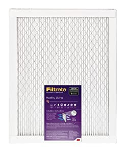Filtrete Healthy Living Filter, 25-Inch by 25-Inch by 1-Inch, 6-Pack