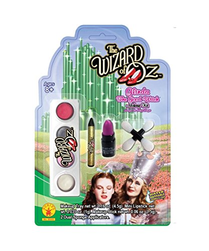 Wizard of Oz Glinda Good Witch Girls Halloween Costume Makeup Kit