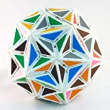 Superstar Very Puzzle White Puzzle Cube Twisty Toy NEW (Edge Only Tuttminx) (Color: White Body)