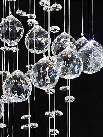 Serpentina 900 Led Kristall Decken Hangeleuchte 15 Watt