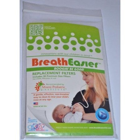 BreathEasier BOOGIES BE GONE! Replacement Filters (30)