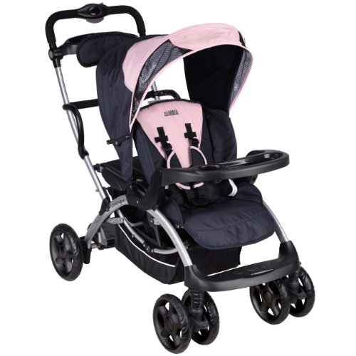 Dream On Me / Mia Moda Compagno Stroller, Pink
