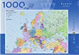 Map of Europe 1000 Piece Jigsaw Puzzle
