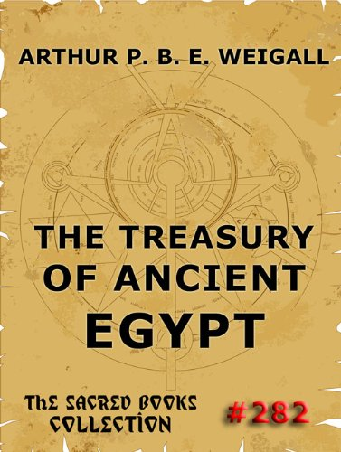 Large book cover: The Treasury of Ancient Egypt