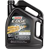 Castrol 03083 EDGE 5W-20 Synthetic Motor Oil - 5 Quart