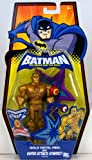 DC Batman Brave and the Bold Action Figure Gold Metal Men with Super Attack Starro