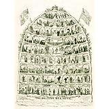 The British Beehive, by George Cruikshank (V&A Custom Print)