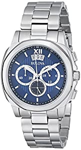 Mens Bulova Dress Chronograph Watch 96B219