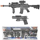Colt M4 AEG Rifle & M1911 Spring Pistol Kit airsoft gun