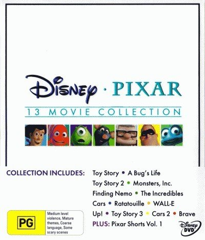 Disney Pixar Collection - 16-DVD Box Set ( Toy Story / A Bug's Life / Toy Story 2 / Monsters, Inc. / Finding Nemo / The Incredibles / Cars / Ratatou [ NON-USA FORMAT, PAL, Reg.2.4 Import - Australia ] (Finding Nemo 2 compare prices)