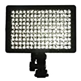 IMAGE 160 LED Digital Camera and Camcorder Video Light, Ultra High Power 160 LED Light for Canon, Nikon, Pentax, Panasonic, Samsung and Olympus Digital SLR Cameras CN-160