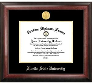 FSU Florida State University Home Office Diploma Picture Frame by Landmark Publishing