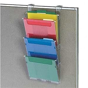Amazon 3 Pocket Hanging Wall File Folder System