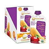 Happy Tot Organic Baby Food, Butternut Squash and Apple, 4.22-Ounce Pouches (Pack of 16)