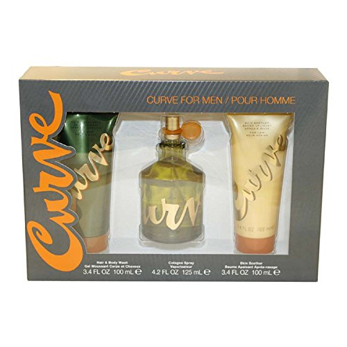 Liz Claiborne Curve 3 Piece Gift Set for Men