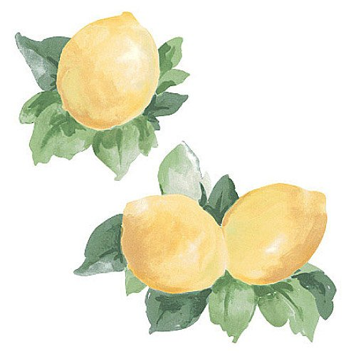Wallies 12149 Fresh Lemons Wallpaper Cutout